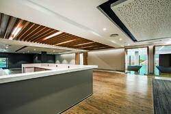 Conference centre reception