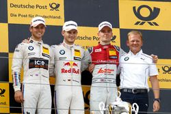 Podium: Race winner Marco Wittmann, BMW Team RMG, BMW M4 DTM; second place Tom Blomqvist, BMW Team R