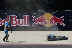 Choque de Jack Miller, Marc VDS Racing Honda