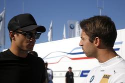 Mitch Evans y António Félix da Costa, BMW Team Schnitzer, BMW M4 DTM