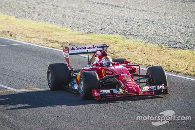 Pruebas Pirelli Ferrari Septiembre