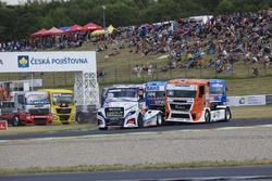 Jiri Forman, Freightliner fürhrt zum Start