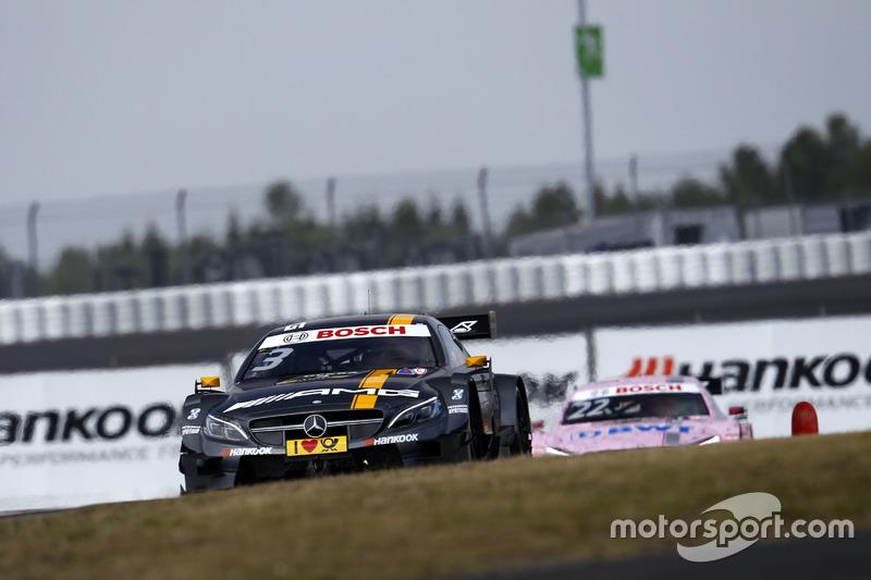 Ausgefallen: Paul di Resta, Mercedes-AMG Team HWA, Mercedes-AMG C63 DTM