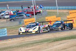 #5 Action Express Racing Corvette DP: Joao Barbosa, Filipe Albuquerque, Christian Fittipaldi, #10 Wayne Taylor Racing Corvette DP: Ricky Taylor, Jordan Taylor, Max Angelelli