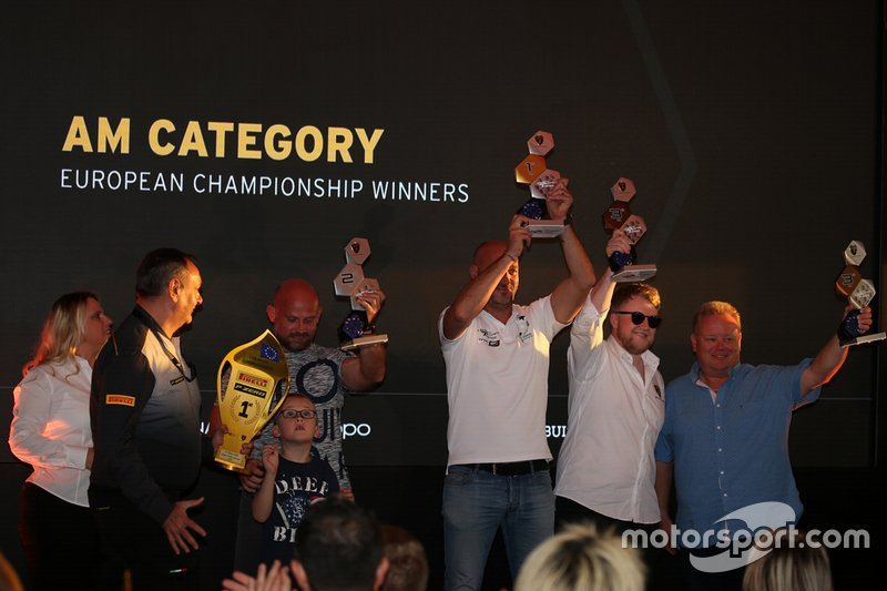 Premiazioni Lamborghini Super Trofeo 2019