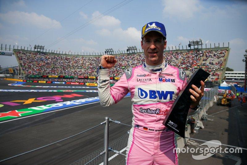 Il vincitore della gara Michael Ammermüller, BWT Lechner Racing
