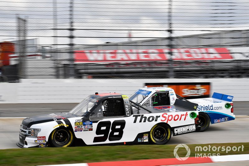 Grant Enfinger, ThorSport Racing, Ford F-150 Curb Records