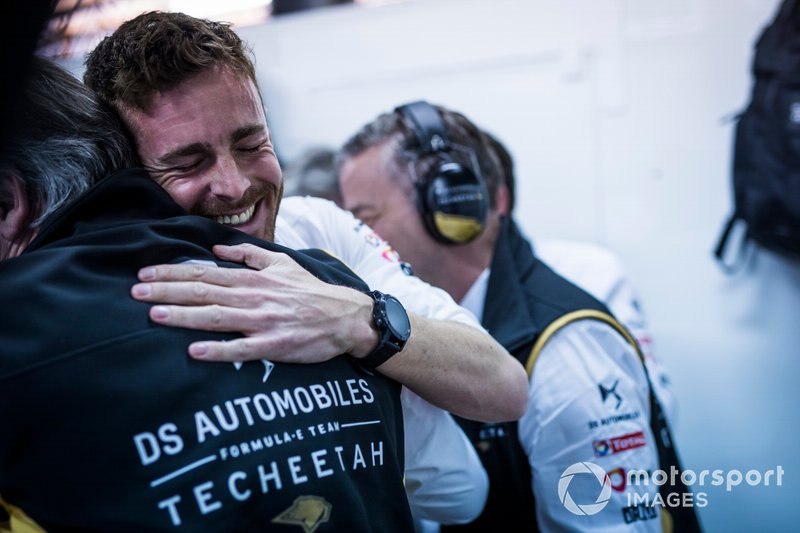 James Rossiter, DS Techeetah, DS E-Tense FE20 celebra