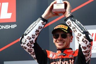 Podium: derde plaats Scott Redding, Aruba.it Racing Ducati