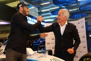 Roy Nissany, Offical Williams Racing Test Driver and Sylvan Adams, President of Roy Nissany F1 Management