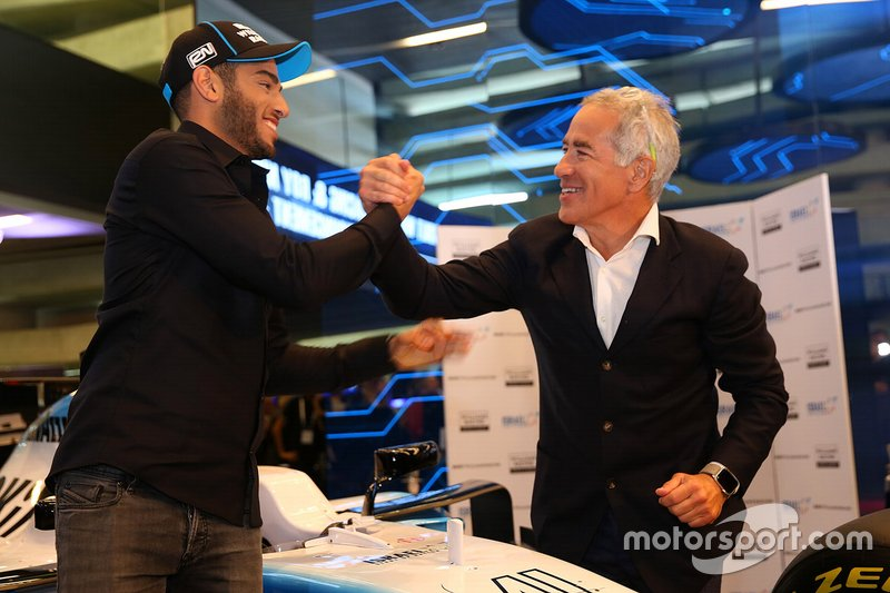 Roy Nissany, Tester Ufficiale Williams Racing e Sylvan Adams, Presidente di Roy Nissany F1 Management