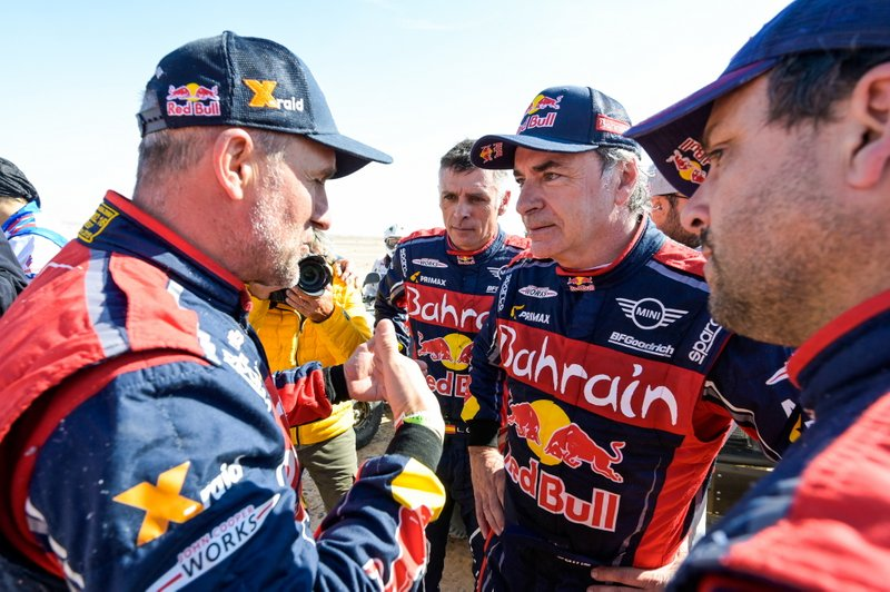 Ganador #305 JCW X-Raid Team: Carlos Sainz, #302 JCW X-Raid Team: Stephane Peterhansel