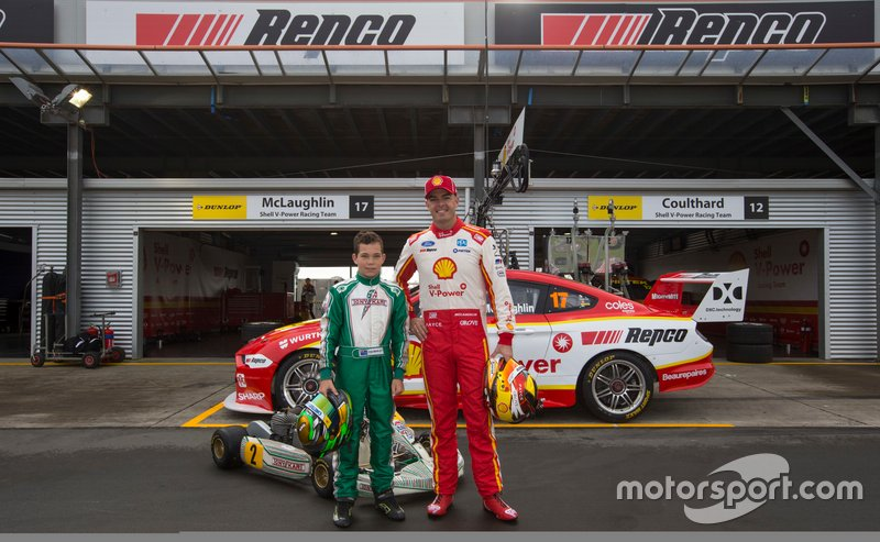 Scott McLaughlin and Tom Bewley