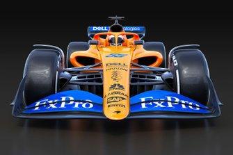 F1 2021, auto del team McLaren