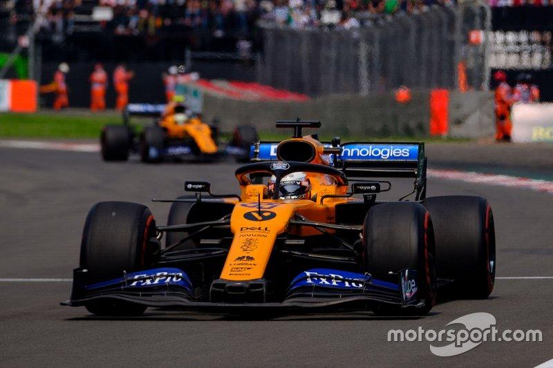13º: Carlos Sainz Jr., McLaren MCL34
