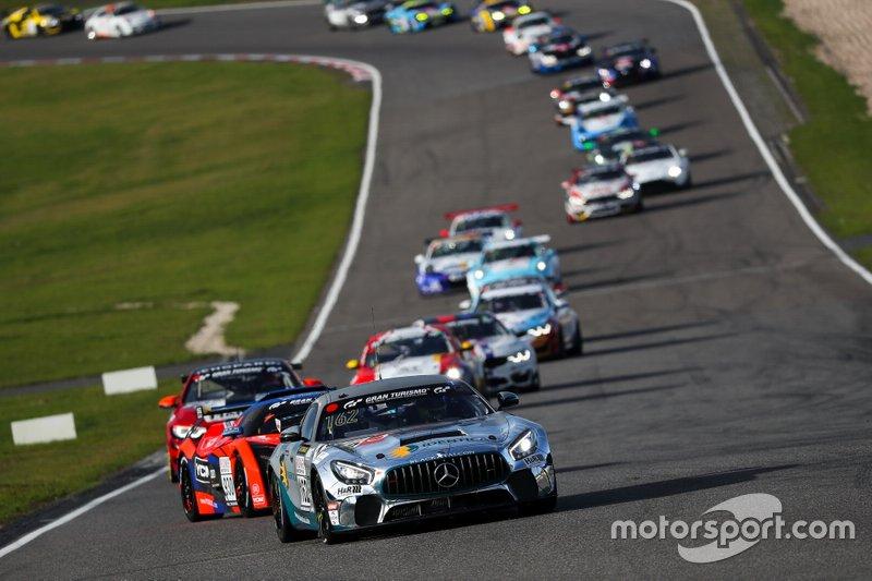#162 Team Black Falcon Mercedes-AMG GT4: Tobias Müller, Tim Scheerbarth, Tristan Viidas