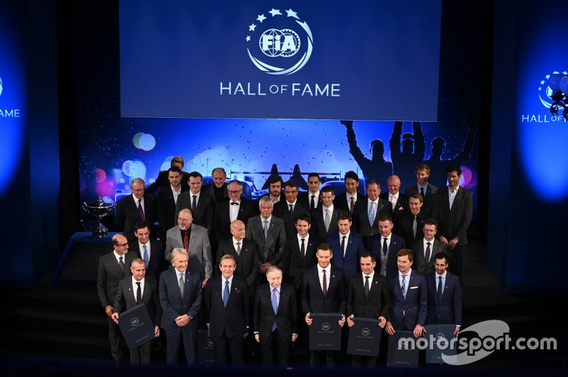 FIA World Endurance Champions group photo