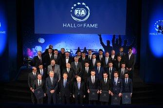 Gruppenfoto: Aufnahme der WEC-Champions in die FIA Hall of Fame