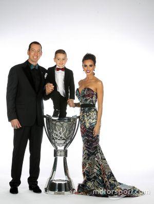 NASCAR Cup-Champion 2019: Kyle Busch mit Ehefrau Samantha und Sohn Brexton