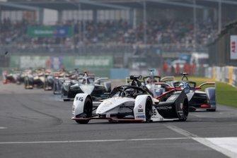 Andre Lotterer, Porsche, Porsche 99x Electric Sam Bird, Virgin Racing, Audi e-tron FE06