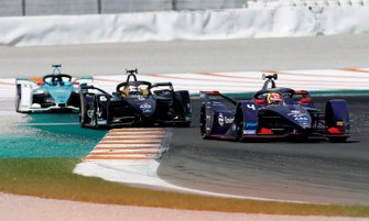 Robin Frijns, Envision Virgin Racing, Audi e-tron FE06 Brendon Hartley, Dragon Racing, Penske EV-4, Ma Qinghua, NIO 333, NIO FE-005