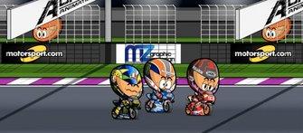 Presentación temporada 2020 MotoGP, Minibikers