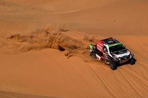 Язид Аль-Раджи и Константин Жильцов, Overdrive Toyota, Toyota Hilux (№309)