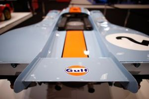 Rear wing detail of the Porsche 917