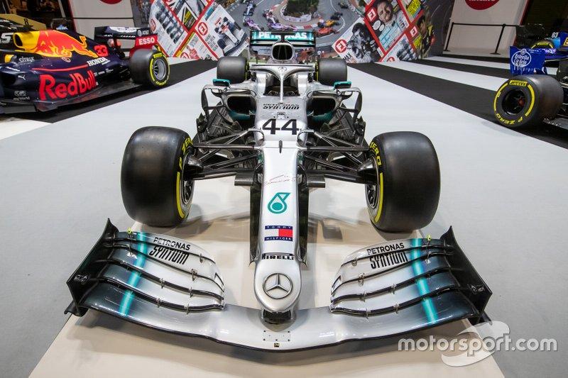 Un coche de Mercedes F1