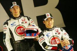 Jenson Button, Honda Racing, Takuma Sato, Honda Racing