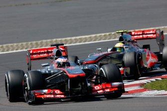 Jenson Button, McLaren, Sergio Perez, McLaren