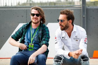 Alex Kalinauckas with Jean-Eric Vergne, DS TECHEETAH