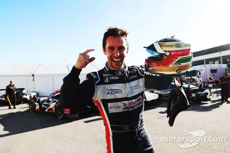 Polesitter #22 United Autosports Ligier JSP217 Gibson: Filipe Albuquerque