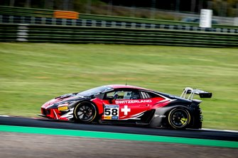 #58 SUI Raton Racing SRL Lamborghini Huracan GT3: Christoph Lenz, Patric Niederhauser