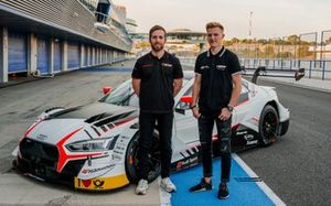 Ed Jones, Fabio Scherer, Audi Sport Team WRT