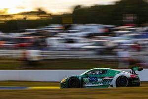 #29 Montaplast by Land Motorsport Audi R8 LMS GT3, GTD: Christopher Mies, Ricardo Feller, Daniel Morad