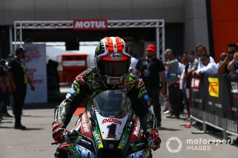 Polesitter Jonathan Rea, Kawasaki Racing Team