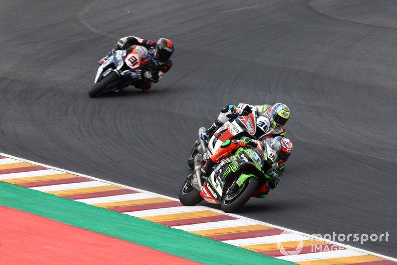 Leon Haslam, Kawasaki Racing Team, Leandro Mercado, Orelac Racing Team, Jordi Torres, Team Pedercini