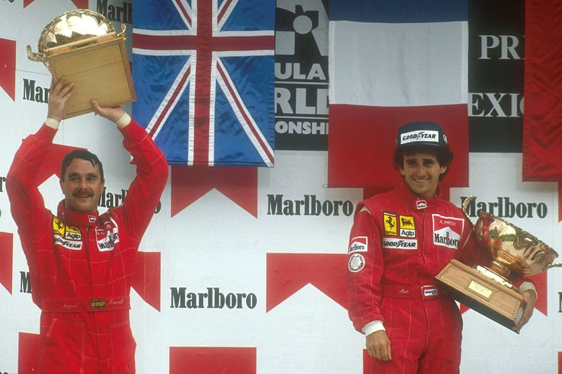 Alain Prost zu Ferrari (1990)