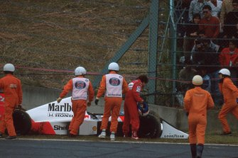 Alain Prost, McLaren MP4/5, al GP del Giappone del 1989