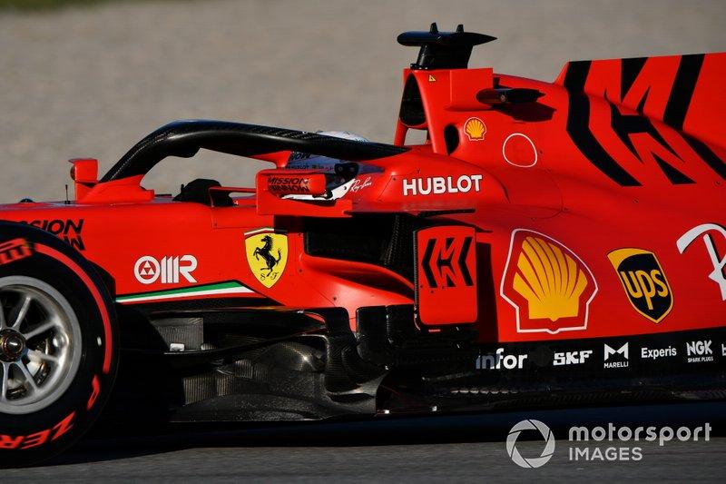 14º Sebastian Vettel, Ferrari SF1000: 1:18.154 (con neumáticos C4)