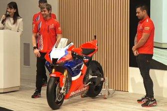 Alvaro Bautista, Honda WSBK Team, Leon Haslam, Honda WSBK Team