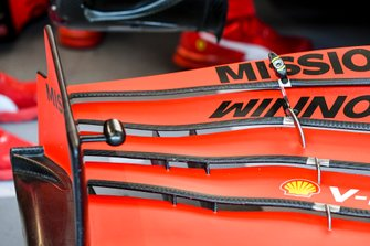 Front wing of the Ferrari SF1000