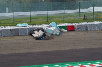 Accidente de Harrison Newey, B-MAX with Motopark