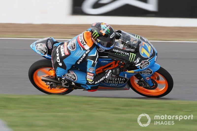 Alex Márquez 1 victoria con KTM