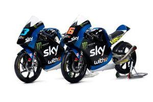 Bikes of Celestino Vietti, Andrea Migno, Sky Racing Team VR46