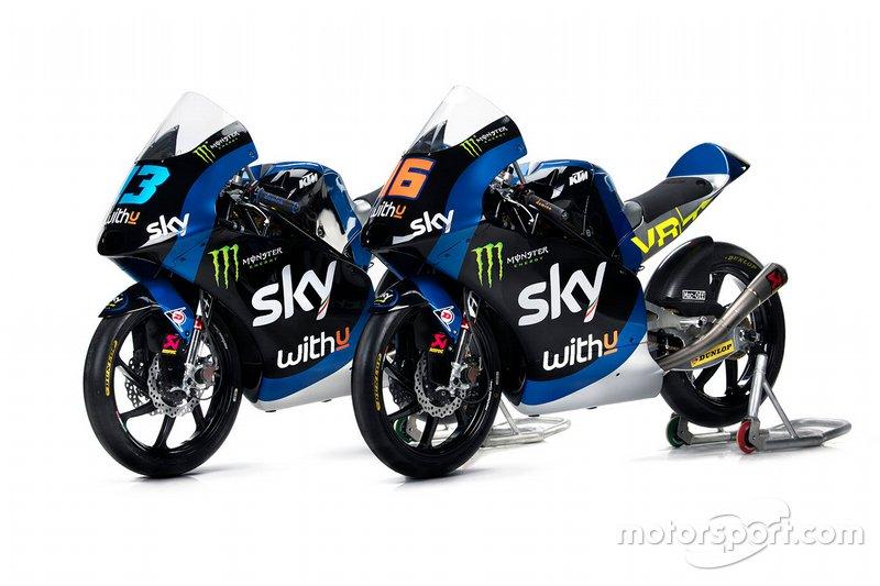 Moto di Celestino Vietti, Andrea Migno, Sky Racing Team VR46