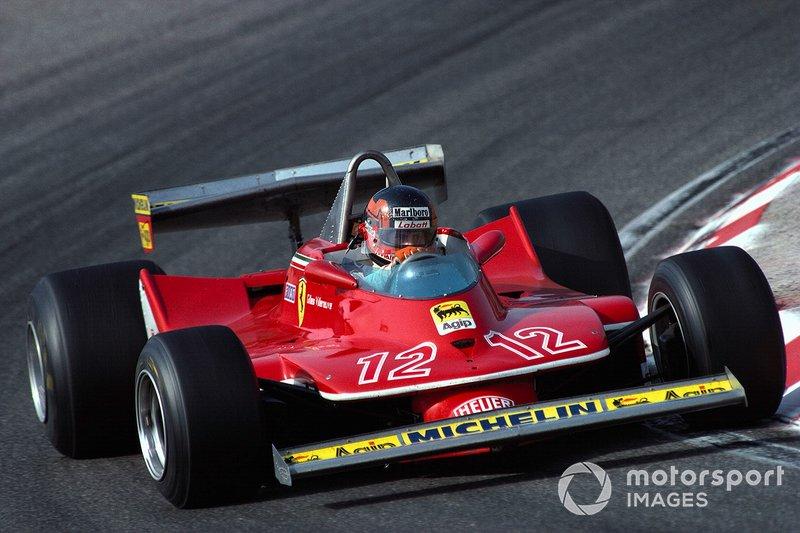 Zandvoort 1979: Gilles Villeneuve met de Ferrari 312T4