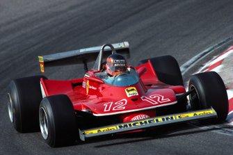Gilles Villeneuve, Ferrari 312T4, al GP d'Olanda del 1979