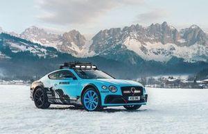 Catie Munnings, Bentley Ice Race Continental GT